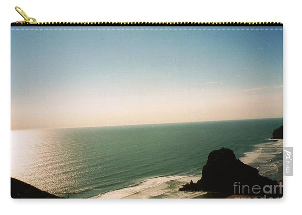 East Coastline In New Zealand Carry-all Pouch