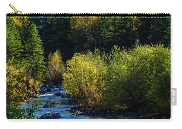 Carry-all Pouch featuring the photograph East Fork Autumn by Jason Coward