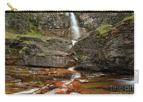 East Glacier Virginia Falls Carry-all Pouch
