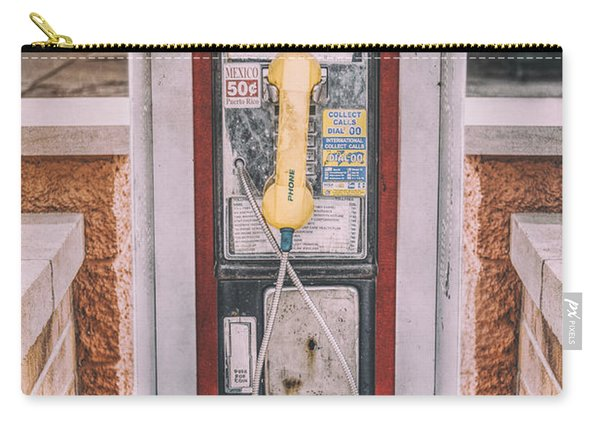East Side Pay Phone Carry-all Pouch