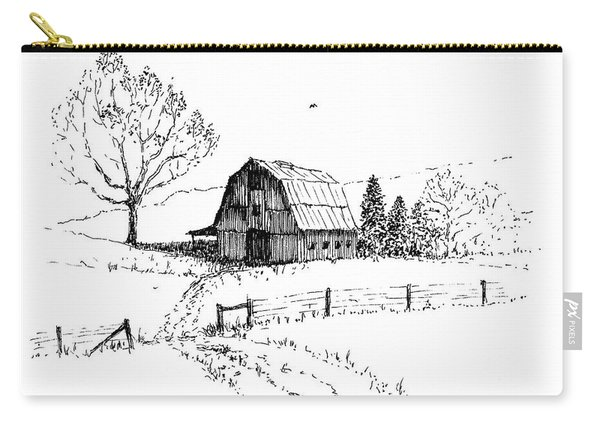 East Texas Hay Barn Carry-all Pouch