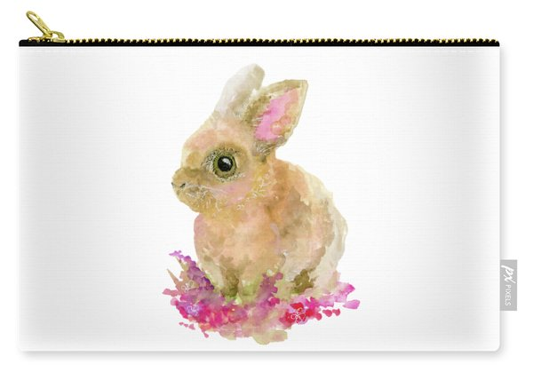 Easter Bunny Carry-all Pouch