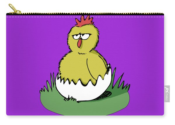 Easter Chicken Carry-all Pouch