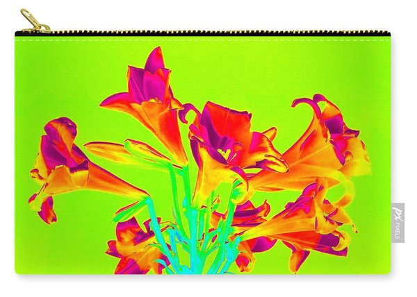 Vibrant Lilies Carry-all Pouch