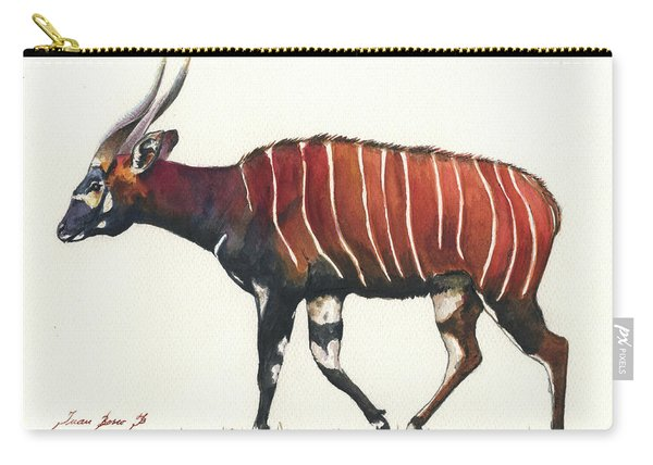 Eastern Bongo  Carry-all Pouch