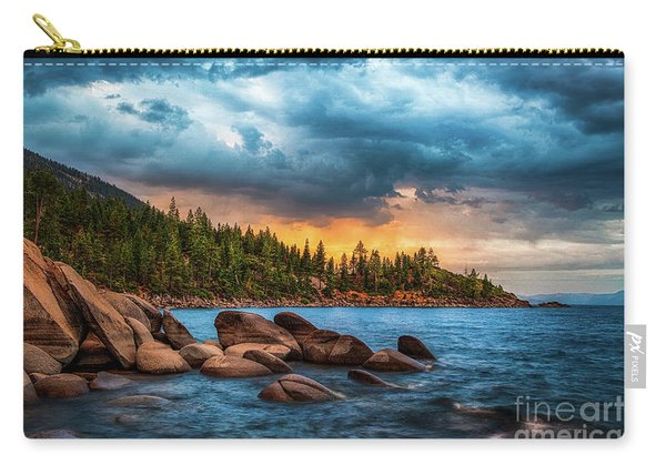 Eastern Glow At Sunset Carry-all Pouch