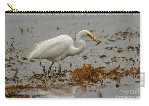 Eastern Great Egret 10 Carry-all Pouch