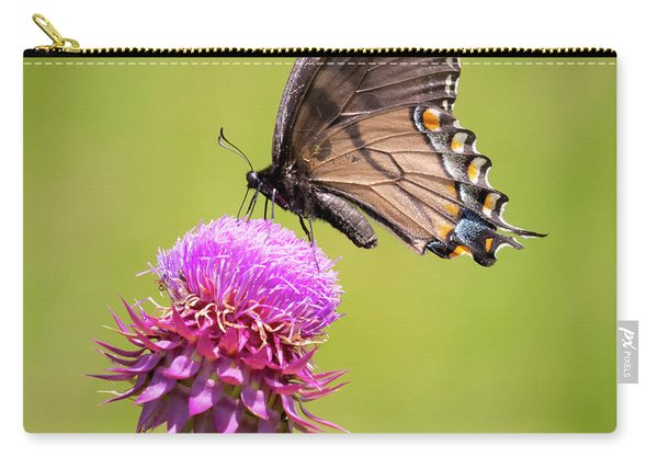 Eastern Tiger Swallowtail Dark Form  Carry-all Pouch