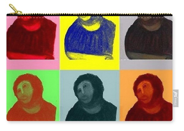 Ecce Homo - Warhol Style Carry-all Pouch