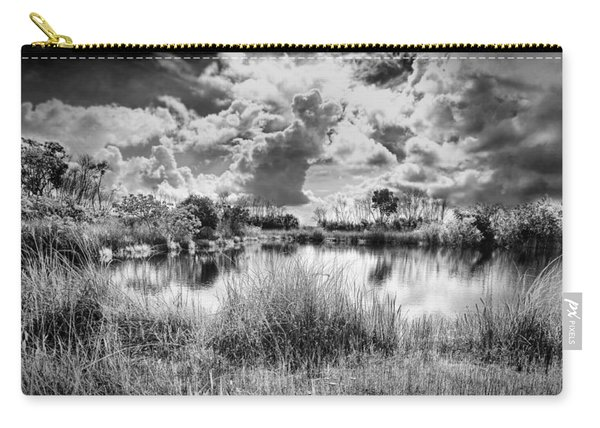 Everglades Lake 5678bw Carry-all Pouch