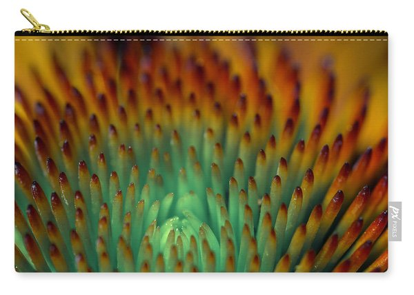 Echinacea Macro Carry-all Pouch