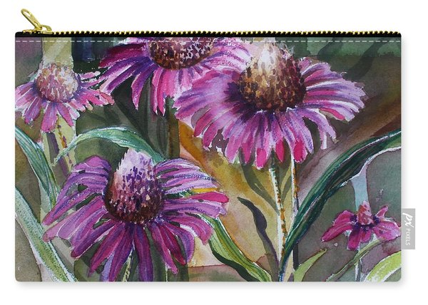 Echinacea The Healing Daisy Carry-all Pouch