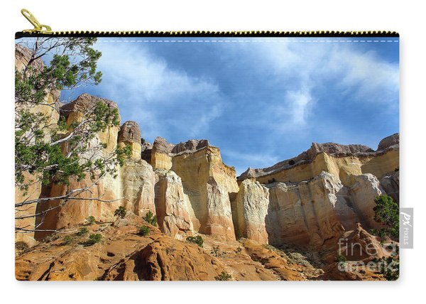 Carry-all Pouch featuring the photograph Echo Amphitheater Hike by Susan Warren