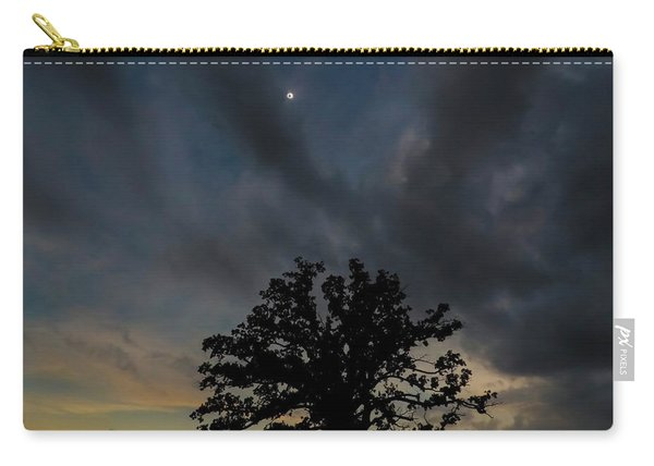 Eclipse Sunset Carry-all Pouch