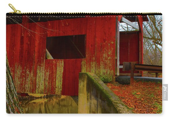 Ecther Covered Bridge Near Catawissa, Pa Carry-all Pouch