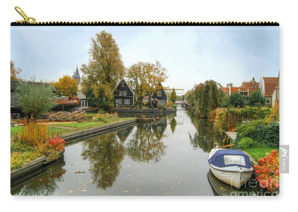 Edam Waterway In Autumn Carry-all Pouch