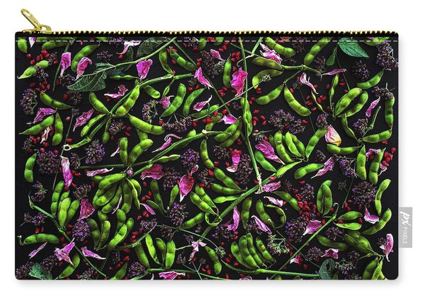 Edamame Patterns Carry-all Pouch