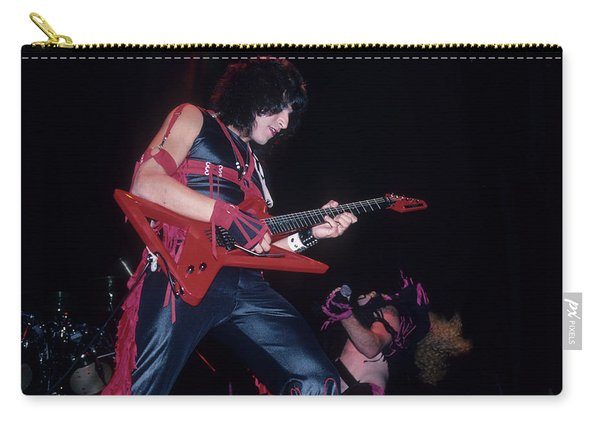 Eddie Ojeda Of Twisted Sister Carry-all Pouch