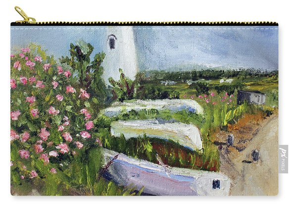 Edgartown Light And Her Entourage Carry-all Pouch