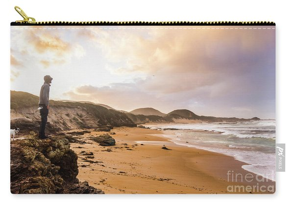 Edge Of Western Shores Carry-all Pouch