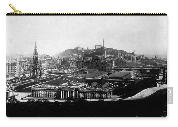 Edinburgh From Castle Carry-all Pouch