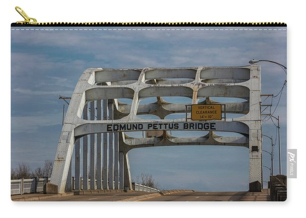 Edmund Pettus Bridge  Carry-all Pouch
