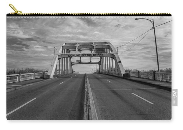 Edmund Pettus Bridge Selma Al Carry-all Pouch