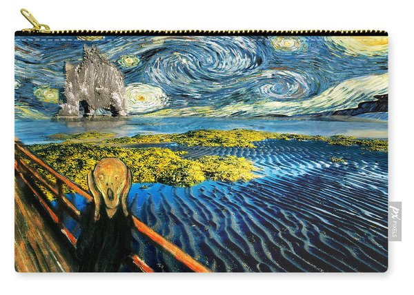 Edvard Meets Vincent Posters Carry-all Pouch