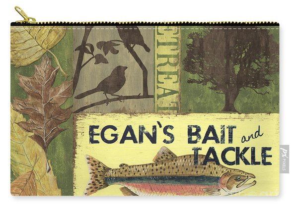 Egan's Bait And Tackle Lodge Carry-all Pouch