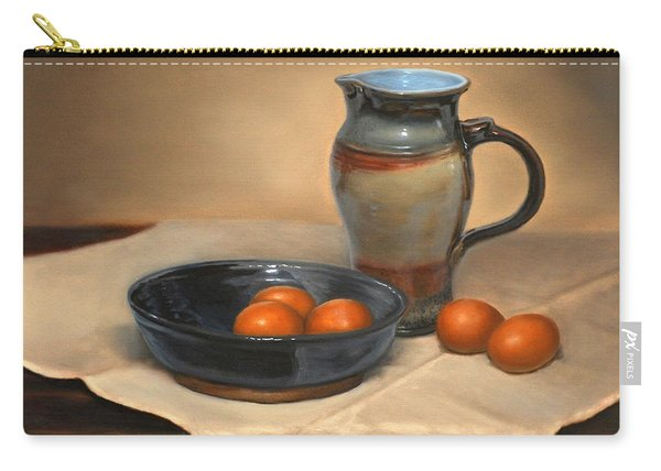 Eggs And Pitcher Carry-all Pouch