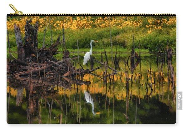 Egret Art  Carry-all Pouch