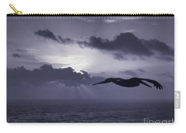 Pelican At Sunrise Carry-all Pouch
