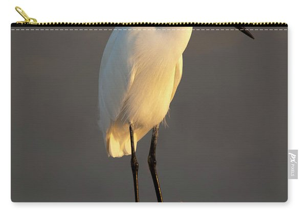 Egret Glow Carry-all Pouch
