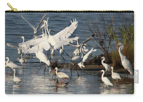 Egret Mania 2 Carry-all Pouch