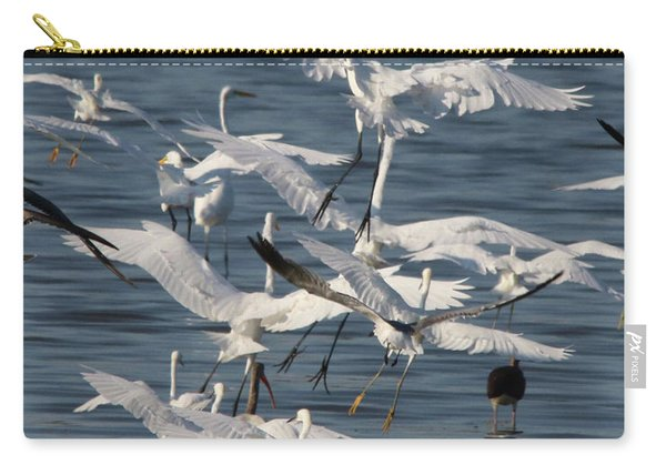 Egret Mania 3 Carry-all Pouch