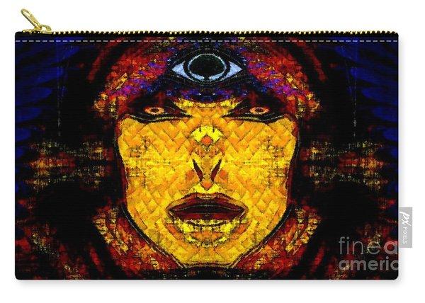 Egypt Goddess  Raet Aka Raettawy Carry-all Pouch
