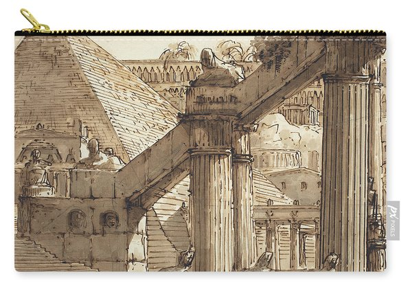 Egyptian Stage Design Carry-all Pouch