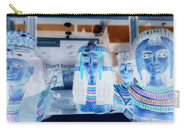 Egyptian Statues Carry-all Pouch