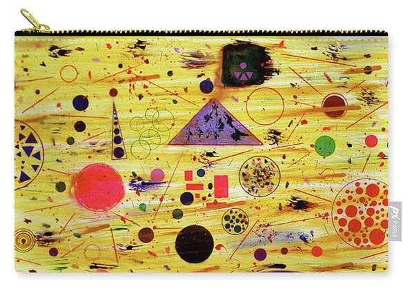 Carry-all Pouch featuring the painting Egyptian Sunrise by Michael Lucarelli