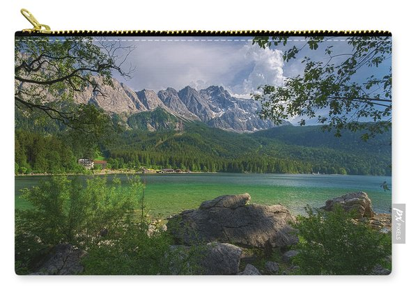 Eibsee Mit Zugspitze Carry-all Pouch