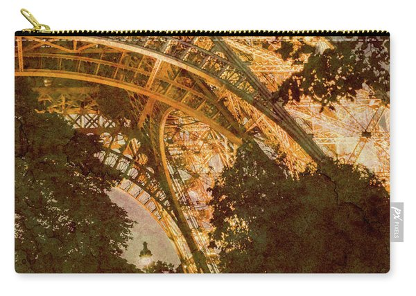 Paris, France - Eiffel Oldplate II Carry-all Pouch