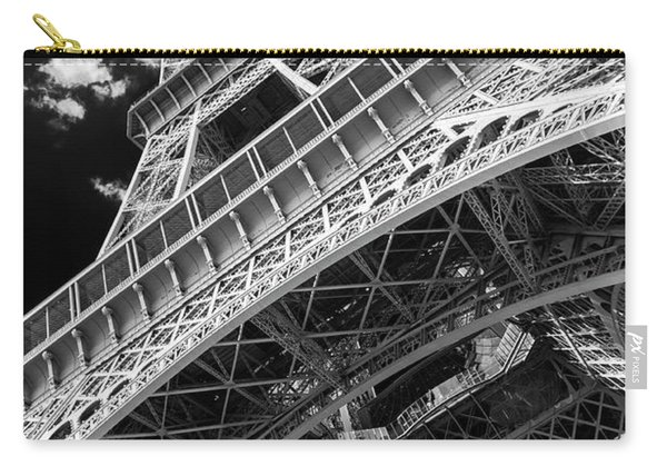 Eiffel Tower Infrared Abstract Carry-all Pouch