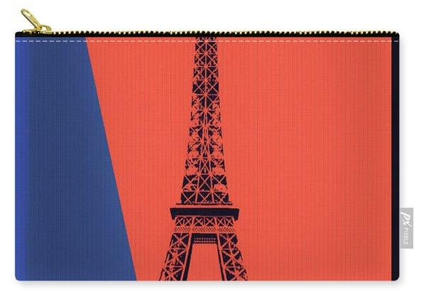 Eiffel Tower Pop Art Carry-all Pouch