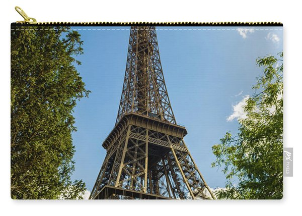 Eiffel Tower Through Trees Carry-all Pouch