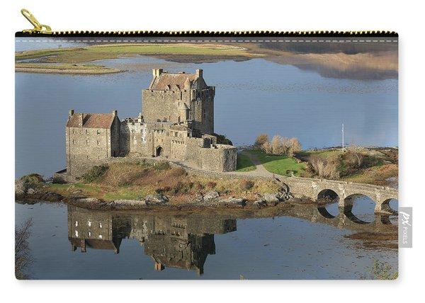 Eilean Donan Castle Reflections Carry-all Pouch
