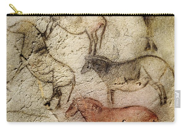 Ekain Cave Horses Carry-all Pouch