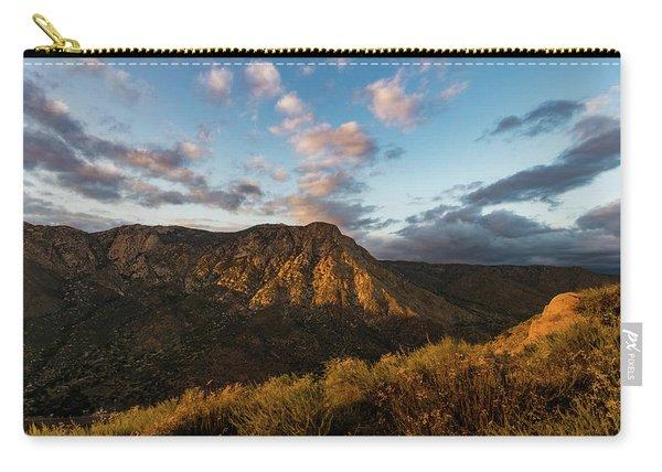 El Cajon Mountain Last Light Carry-all Pouch