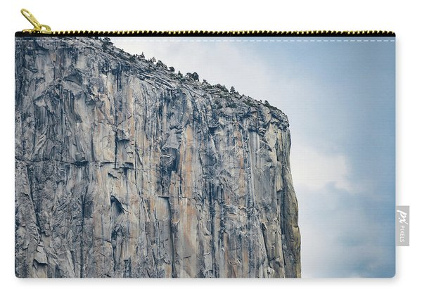 El Capitan Up Close And Personal From Tunnel View Yosemite Np Carry-all Pouch