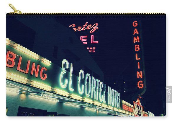 El Cortez Hotel At Night Carry-all Pouch