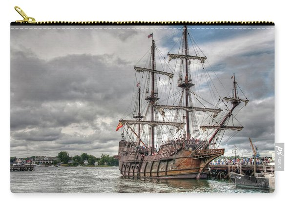 El Galeon Andalucia In Portsmouth Carry-all Pouch